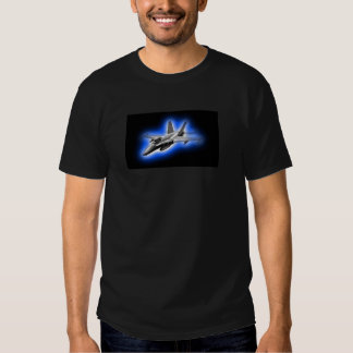 F/A-18 Hornet Fighter Jet Light Blue Shirts