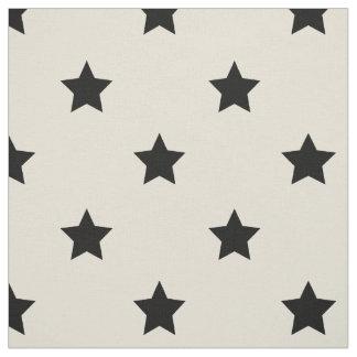 Fabric: White & black stars Fabric