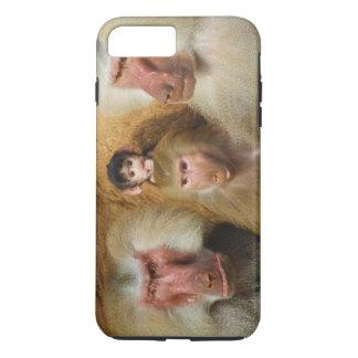 Famille de zoo de Hamadryas Cologne de Papio de Coque iPhone 7 Plus