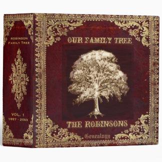 Family Tree Genealogy Album 3 Ring Binders