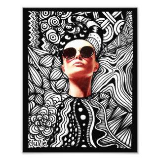Fashion Tangle Photo Print