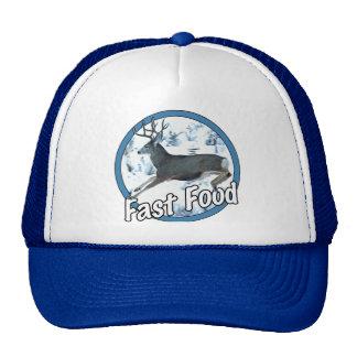 Fast Food Mule Deer Trucker Hat