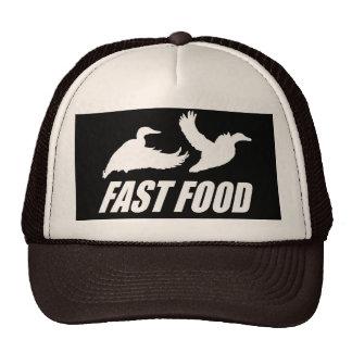 Fast food water fowl w trucker hat