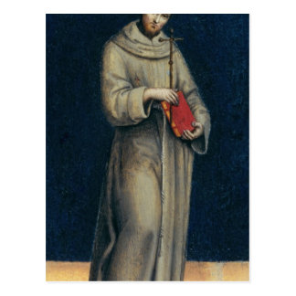 Figure of a Franciscan Monk Postcard