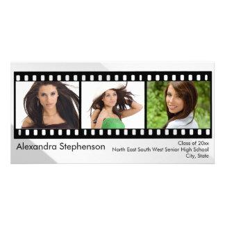 Filmstrip Graduation Photo Card