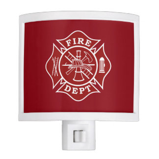 Fire Dept Future Firefighter Night Light