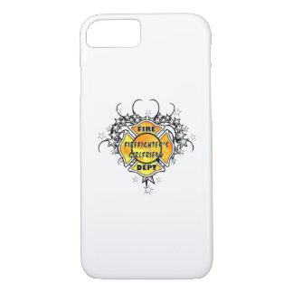 Firefighters Girlfriend Tattoo iPhone 7 Case