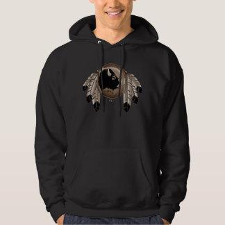 First Nations Hoodie Wildlife Metis Art Hoodie