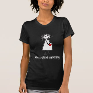 First Time Mommy - Lt T Shirts