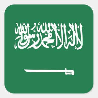 Flag of Saudi Arabia Square Sticker