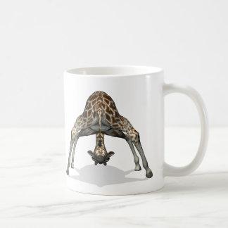 Flexible Giraffe Classic White Coffee Mug