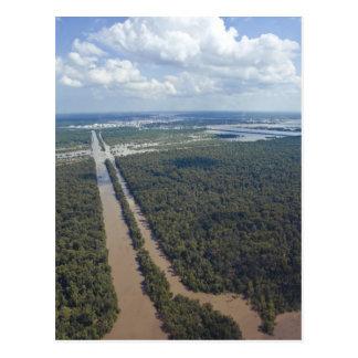 Flooded Bonnet Carre Spillway Postcard