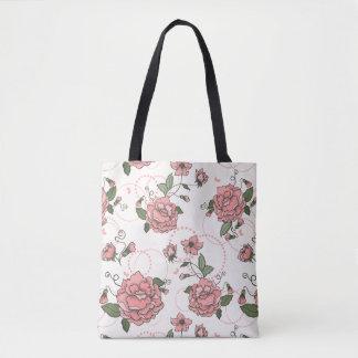 Floral pattern 5 2 tote bag