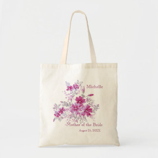 Floral pink Wedding Party Mother of the Bride  Bag