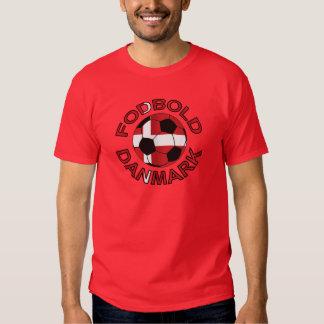 Fodbold Danmark Football Denmark Tshirts