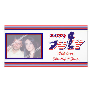 Fourth Of July Photo Card Template