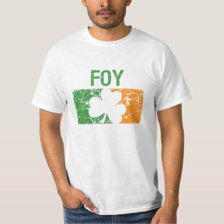 Foy Surname Clover T Shirt