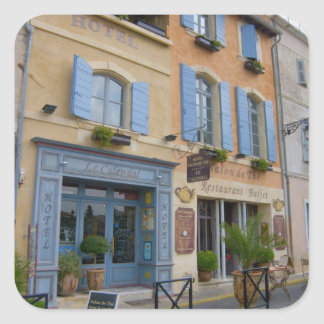 France, Arles, Provence, hotel and restaurant Square Sticker