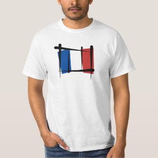 France Brush Flag Tee Shirts