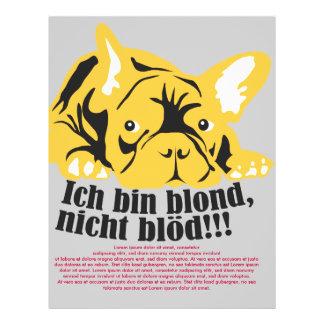 French Bulldogge: Blond! Flyer