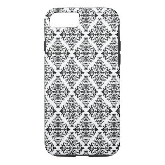 French Pattern in Black & White iPhone 7 Case