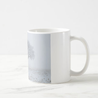 Frost Upon a Lonely Tree Classic White Coffee Mug