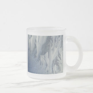 Frosty 10 Oz Frosted Glass Coffee Mug