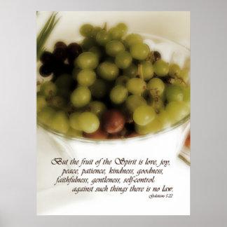 Fruit of the Spirit Poster