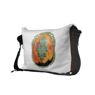 Full Moon Forest Courier Bag