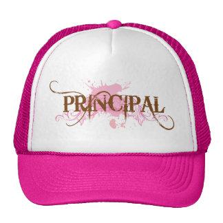 Fun Principal Grunge Gift Trucker Hat