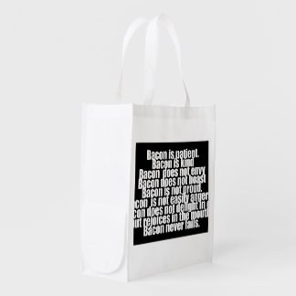 Funny Bacon is Kind parody Market Tote