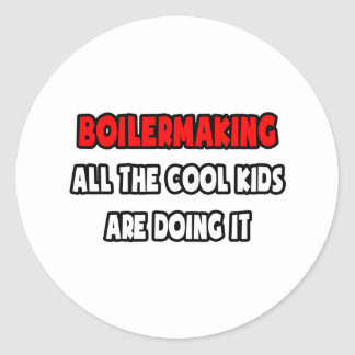Funny Boilermaker Shirts and Gifts Round Sticker