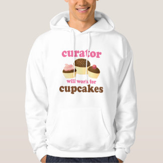 Funny Curator Hooded Pullover
