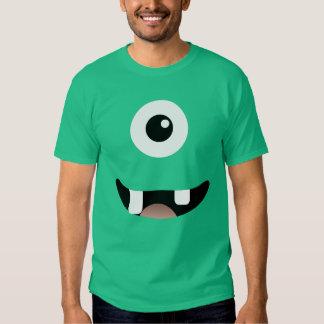 Funny Cyclops One-Eyed Monster Halloween Costume Tee Shirt