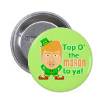 Funny Donald Trump Leprechaun St Patricks 2016 2 Inch Round Button