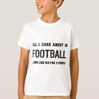 FUNNY FOOTBALL APPAREL TSHIRTS