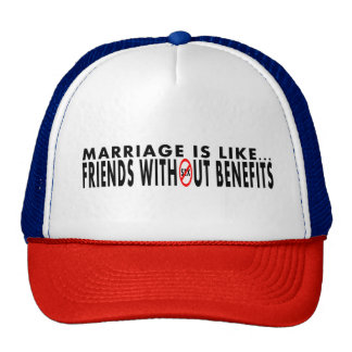 Funny Marriage Themed Trucker Hat