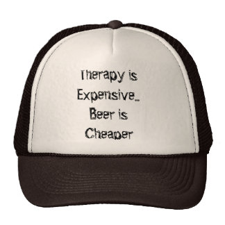 "Funny ""Therapy"" Truckers Cap Trucker Hat"