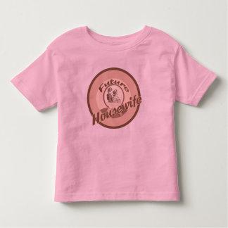 Future Housewife Kids Occupation T-shirt
