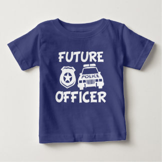 Future Police Officer funny baby Shirts