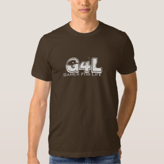 G4L, Gamer, For, Life T-shirts