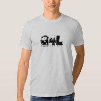 G4L, Gamer, For, Life Tee Shirt