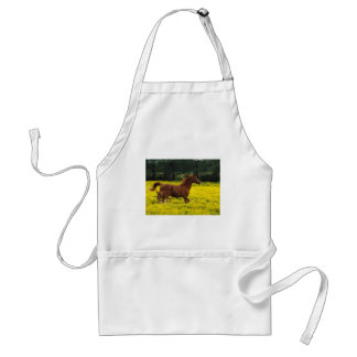Galloping With Mama Standard Apron