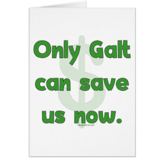 Galt Save Us Note Card