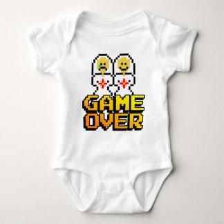 Game Over Marriage (Lesbian, 8-bit) Tee Shirt