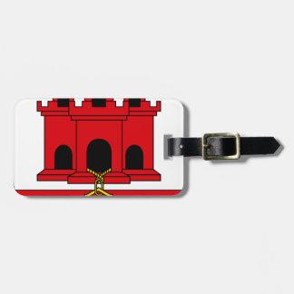Gibraltar_shield Luggage Tag