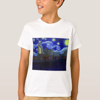 "Gifts: ""Nashville Starry Night"" by Jack Lepper Tee Shirt"