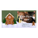 Gingerbread House Photo Card