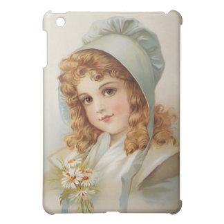 Girl in Bonnet iPad Mini Cases