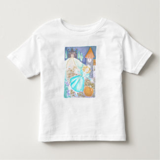 Girl's Cinderella Watercolor T-Shirt